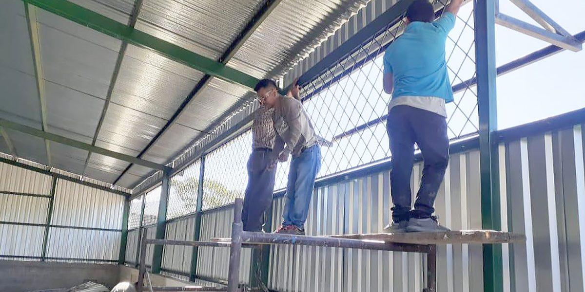 OTRO CENTRO DEPORTIVO QUE SE ERIGE EN MATAGALPA