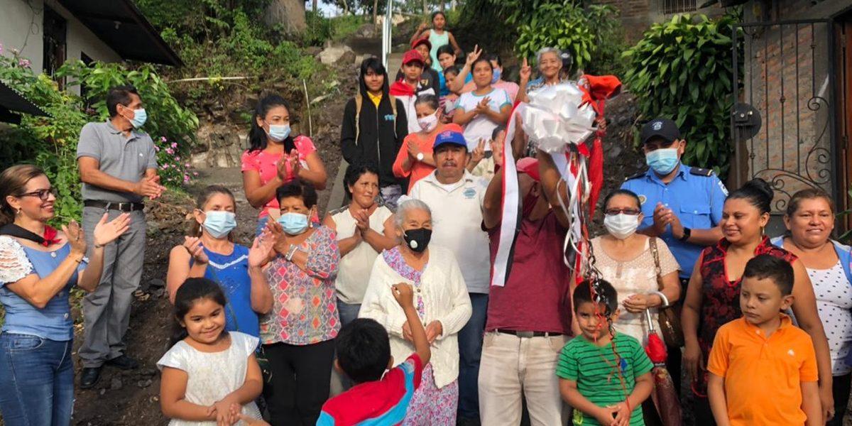 FAMILIAS DEL AQUILES BONUCCI RECIBEN OTRA OBRA DE PROGRESO