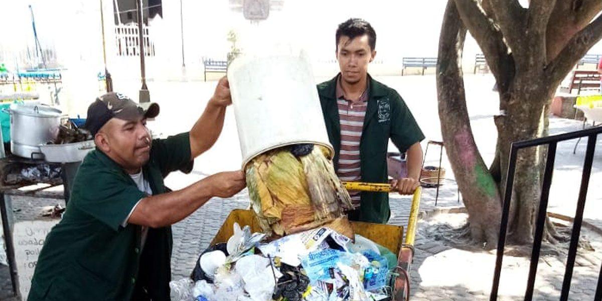 LIMPIEZA PARA MANTENER CONDICIONES HIGIÉNICAS EN PARQUES